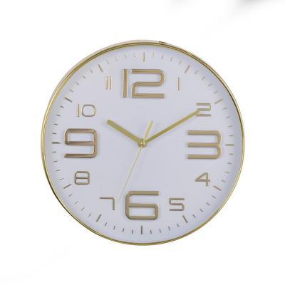 Reloj Mural Decorativo Milano Gold 31x31 cm