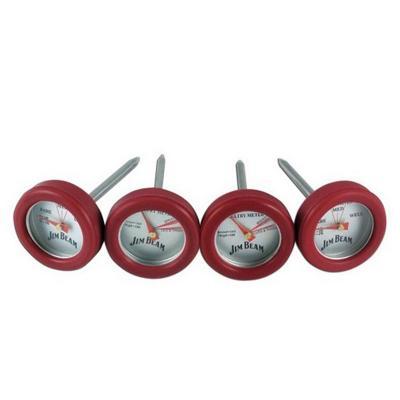 Set 4 Mini Termómetros Para Carnes y Pollo