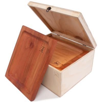 Caja 6 Platos Parrilleros Raulí 33x27,5 cm