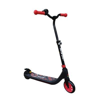Scooter eléctrico con faro altura ajustable rojo