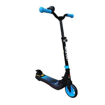 Scooter eléctrico plegable con bocina azul