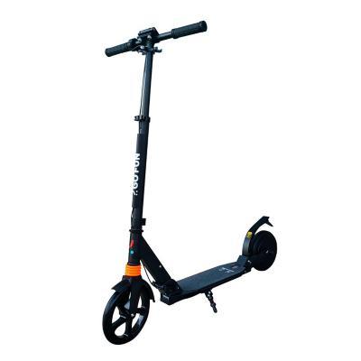 Scooter eléctrico plegable para niños negro