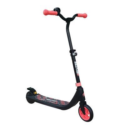 Scooter eléctrico faro altura ajustable rosado