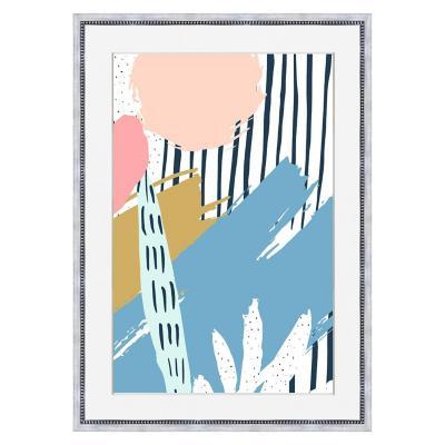 Cuadro abstracto colores 50x70 cm