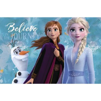 Bajada de cama Frozen believe 57x90 cm