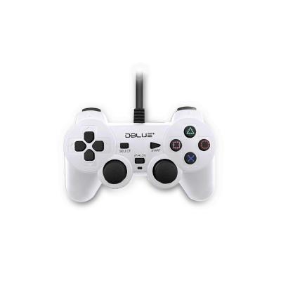 Control Joypad USB Doble Vibración PC / Blanco