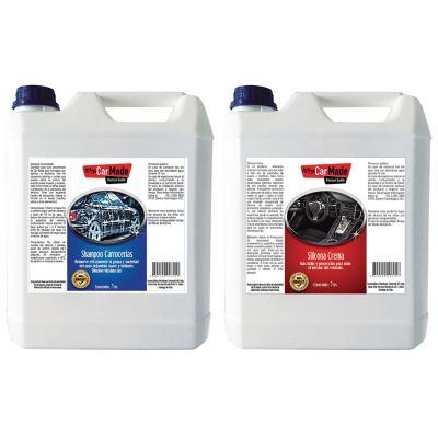 Mantención Auto Kit-3 Shampoo+ Silicona Crema