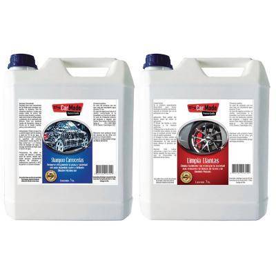 Mantención Auto Kit-2 Shampoo+Limpia LLantas