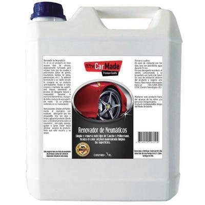 Renovador de Neumáticos y Gomas 5 lt