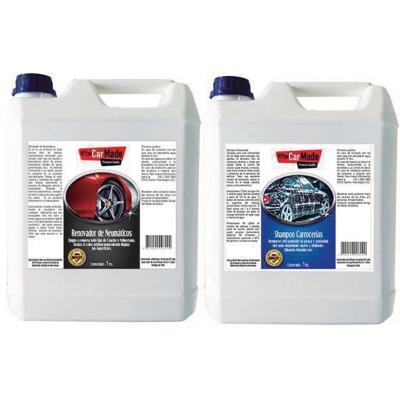 Mantención Auto Kit-1 Shampoo+Renovador Nuematicos