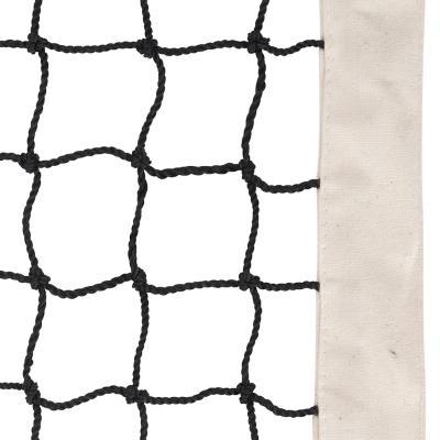 Red de tenis 11x1 metros negro