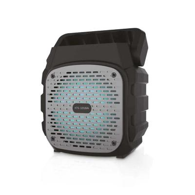 Parlante Portátil Bluetooth USB/SD/FM/AUX Negro