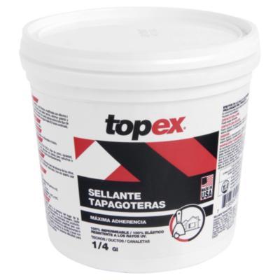 Sellante tapagoteras acrílico 1/4 gl