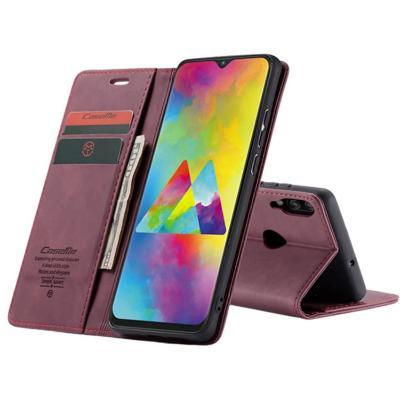 Billetera Samsung A10 Burdeo