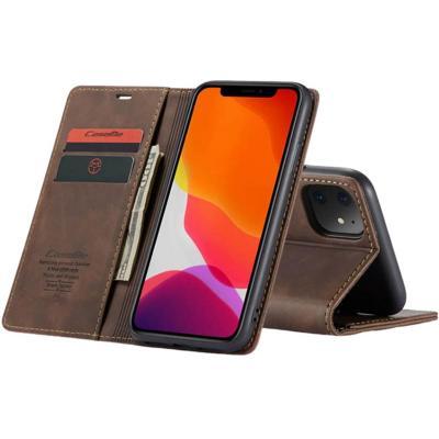 Billetera iPhone 11 Café Oscuro
