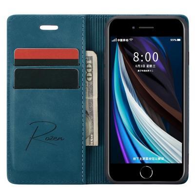 Billetera iPhone 7/8/SEv Celeste Oscuro