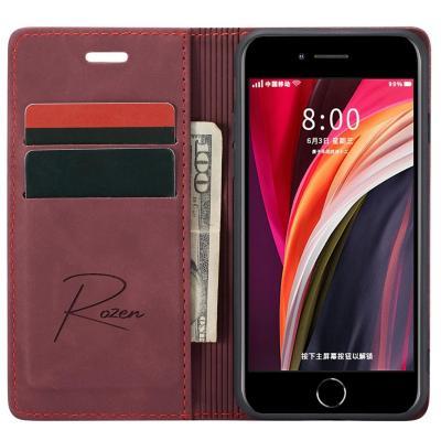 Billetera iPhone 7/8/SE Burdeo
