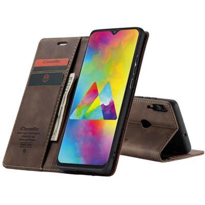 Billetera Samsung A10 Café Oscuro