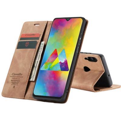 Billetera Samsung A10 Café Claro