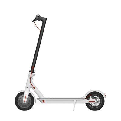 Scooter eléctrico urbano plegable 250 W blanco