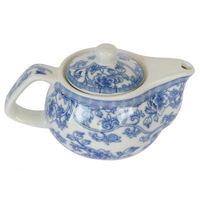 Tetera de cerámica con filtro Azul 250 ml
