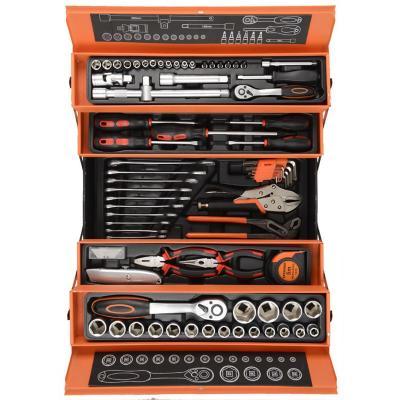 Completo set de herramientas en Caja Metalica