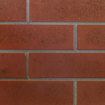 Enchape cerámico esmaltado 25,5x7x0,75 cm rojo