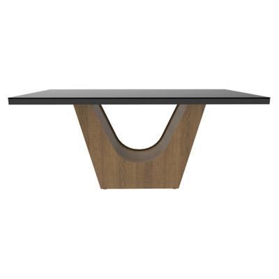 Mesa de comedor 77x90x160 cm vidrio