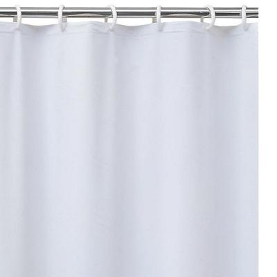 Forro para cortina de baño PVC 140x200 cm blanco