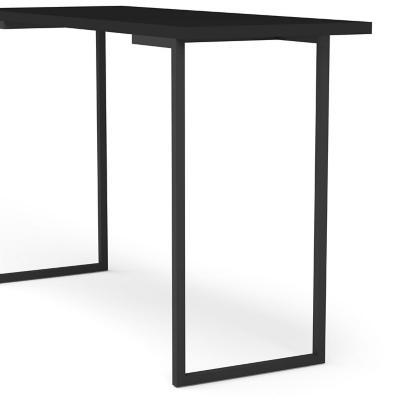 Escritorio 120x45x78 cm MDP negro