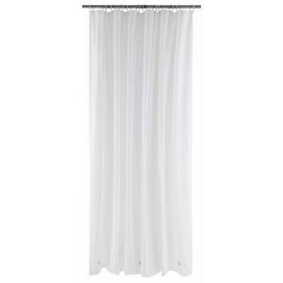 Forro para cortina de baño PVC 190x195 cm blanco