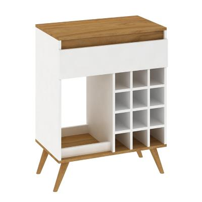 Bar Retro Blanco Nogal 86x67x38 cm