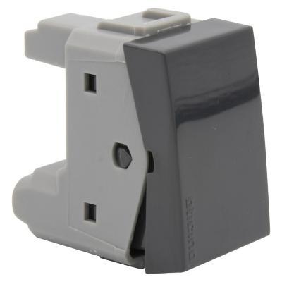 Interruptor (9/12) 10ax antracita nóbile