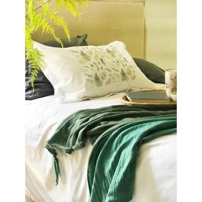 Manta Plaids Verde 145x250 cm