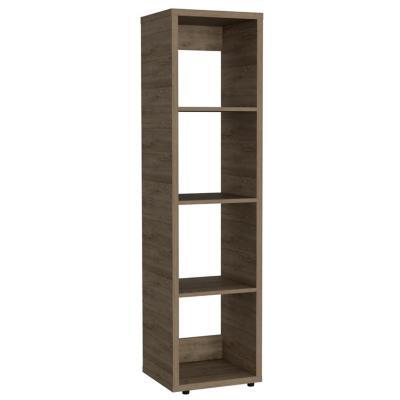 Biblioteca 4 repisas MDF 37,9x146,2x34 cm