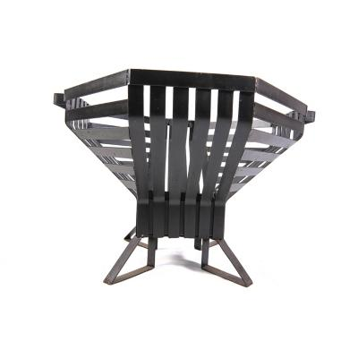 Fogón fierro carbón 70x70x50 cm negro