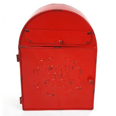 Buzón metálico Esmaltado 30x21x10 cm Rojo