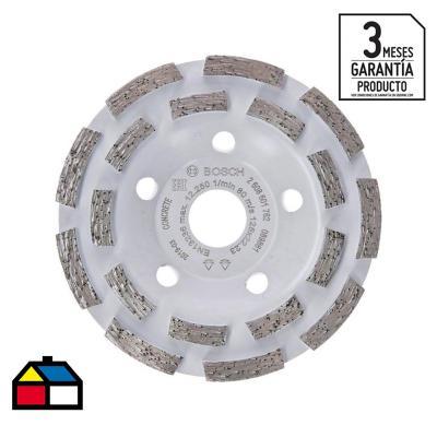 Copa diamantada expert for concrete segmentado 125x22,23mm