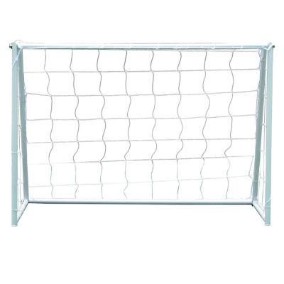 Arco de Fútbol 180 cm metal blanco