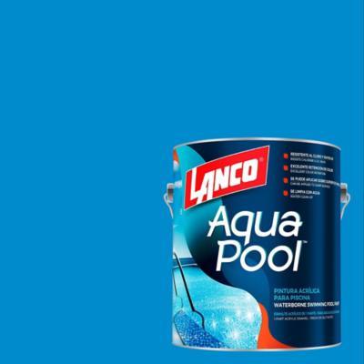 Pintura Piscinas Aqua Pool Azul Oceano 1 gl
