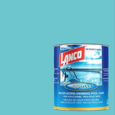 Pintura piscinas aqua pool azul caribe 1 gl