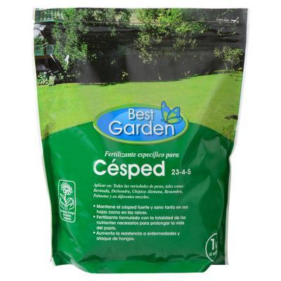 Fertilizante para césped 1 kg bolsa