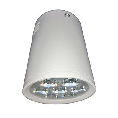 Foco sobrepuesto cilíndrico luz cálida 7 W