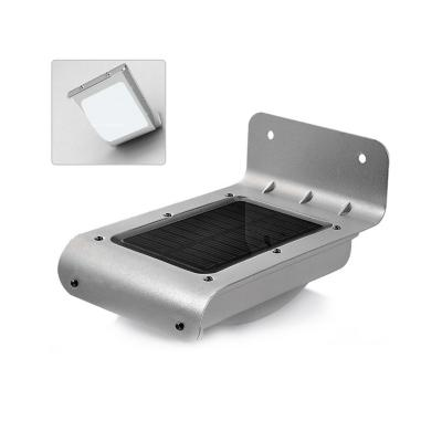 Apliqué exterior solar luz blanca con sensor