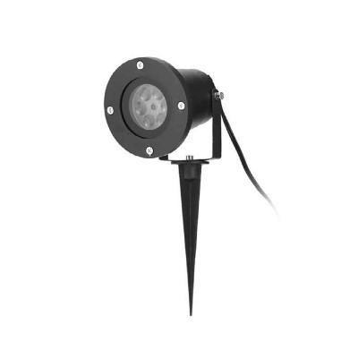 Estaca exterior Luz Láser 3 W IP65 negro