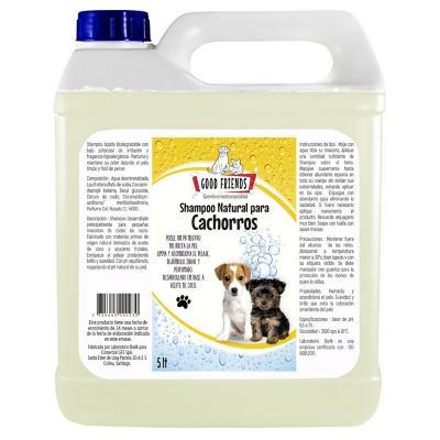 Shampoo natural para cachorros 5 litros