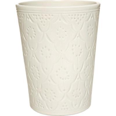 Jarro cerámica marroquí blanco