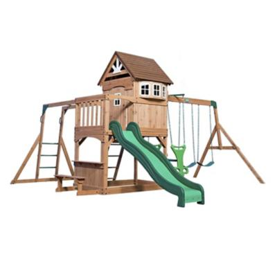 Centro de juegos de madera Montpelier