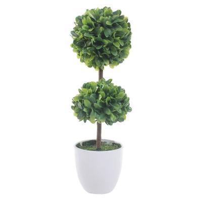Planta Artificial Moldeada Verde