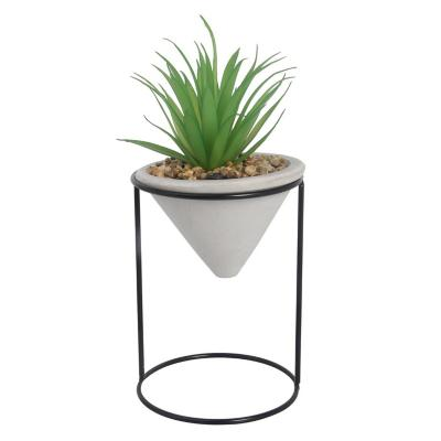 Planta Decorativa Cono Dracaena Artificial